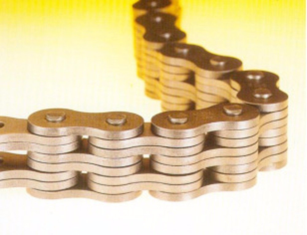 Ametric® FB 254X5M FB Series Leaf Chain With Case-Hardened Bushings, 25.4 mm Pitch, 4x4 Plate Lacing, 29.3 mm Overall Width, 25.6 mm Plate Width, 8.28 mm Pin Diameter, 23 mm Chain Height, (1-005)