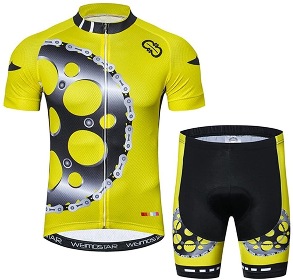 Xinzechen Men's Bicycle Jersey Short Sleeve