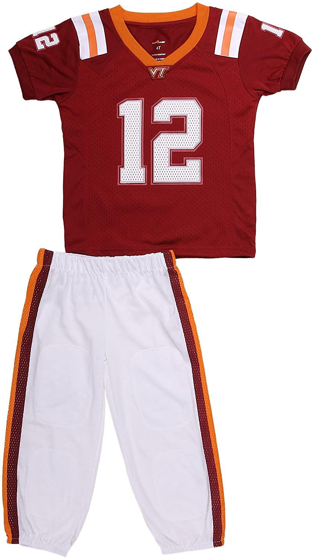 Fast Asleep Virginia Tech Uniform Pajama Set New … (2T)