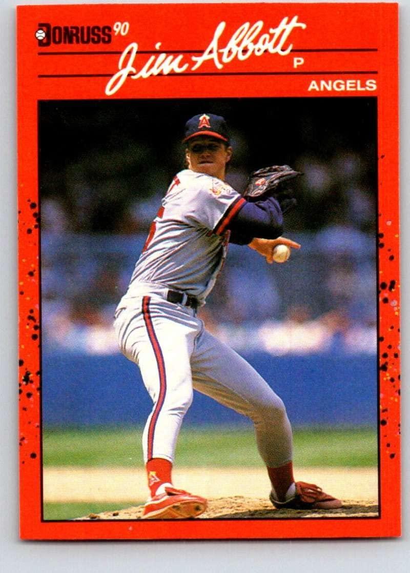 1990 Donruss #108 Jim Abbott