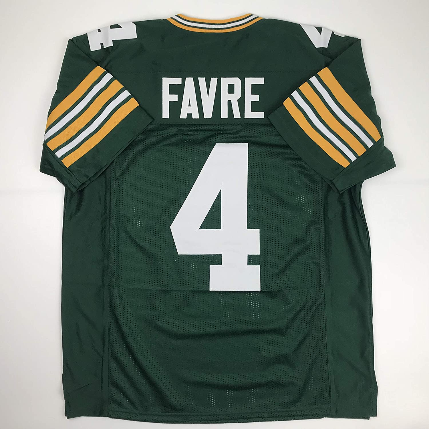 Unsigned Brett Favre Green Bay Green Custom Stitched Football Jersey Size Mens XL New No Brands/Logos