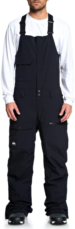 Quiksilver Mens Utility - Snow Bib Pants Snow Bib Pants