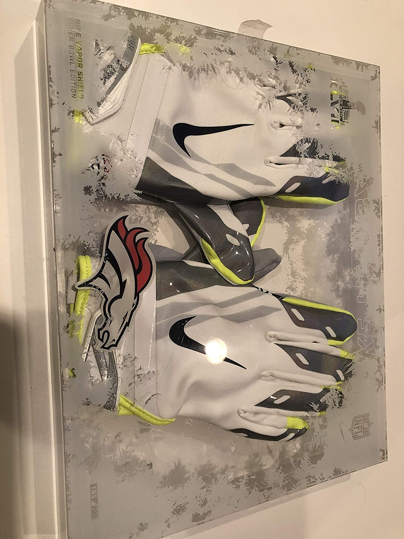 Nike Vapor Shield Denver Broncos Receiver Gloves. Adult Large
