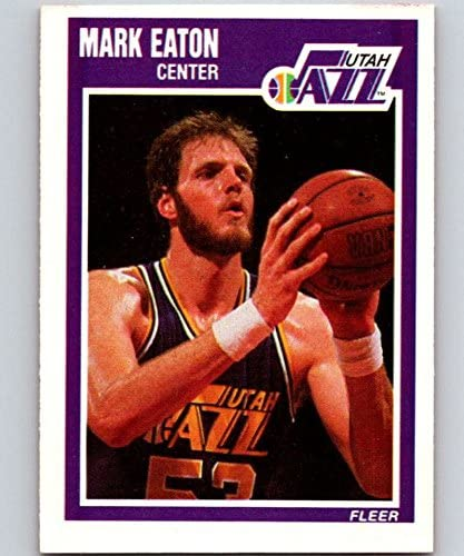 1989-90 Fleer #152 Mark Eaton Jazz NBA Baseketball