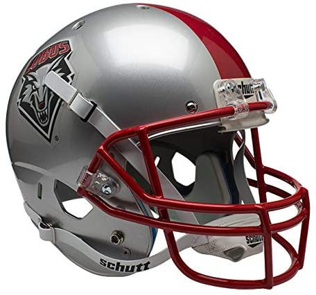 Schutt NCAA New Mexico Lobos Replica XP Football Helmet