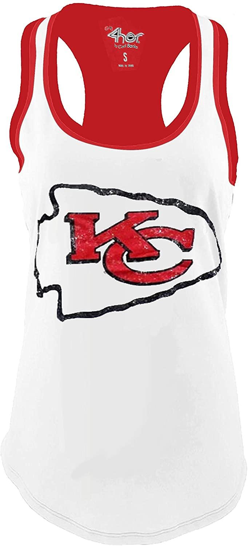 G-III Sports Kansas City Chiefs Womens Power Alley Tank Top T-Shirt