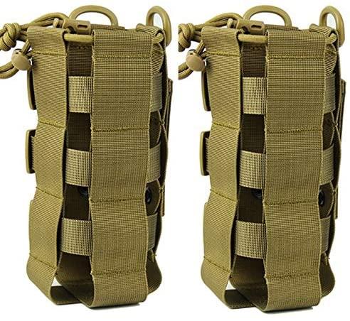 ATBP Tactical Water Bottle Pouch Holder Military Hydration Carrier Waist Fanny Pack for Molle Backpack Vest Bike Bottle Cage Bag