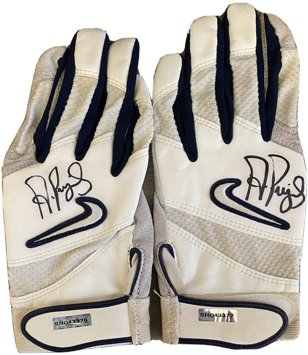 Albert Pujols St. Louis Cardinals Signed Game Used/Worn Batting Gloves PFF - Upper Deck Certified - MLB Game Used Gloves