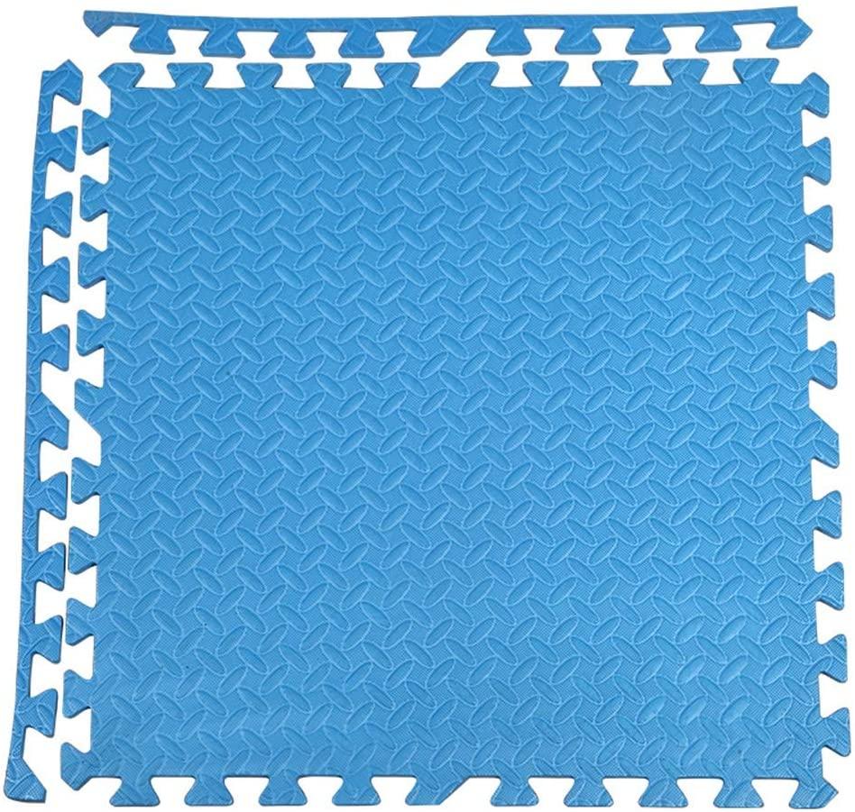 RUIRUIY Foam Puzzle Mats Interlocking Ceramic Tile Household Bedroom Stitching Pad Child Crawling Mat, 10 Colors, 2 Sizes (Color : D, Size : 60X60X1.0CM-10PCS)