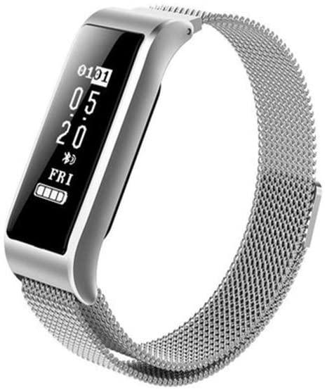 Smart Bracelet Woman Monitors Heart Rate Blood Pressure Sleep Meter Pedometer Multi-Functional Metal Movement