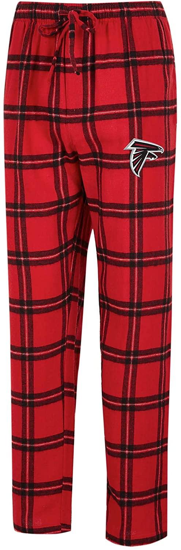 Concepts Sport Atlanta Falcons Homestretch Flannel Pants (Large)