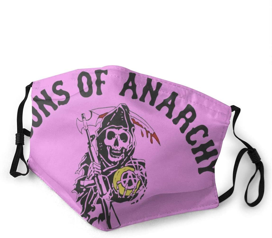 Sons of Anarchy Dust with Filter is Soft and Breathable You Can Change Its Length According to Your Facial Contour