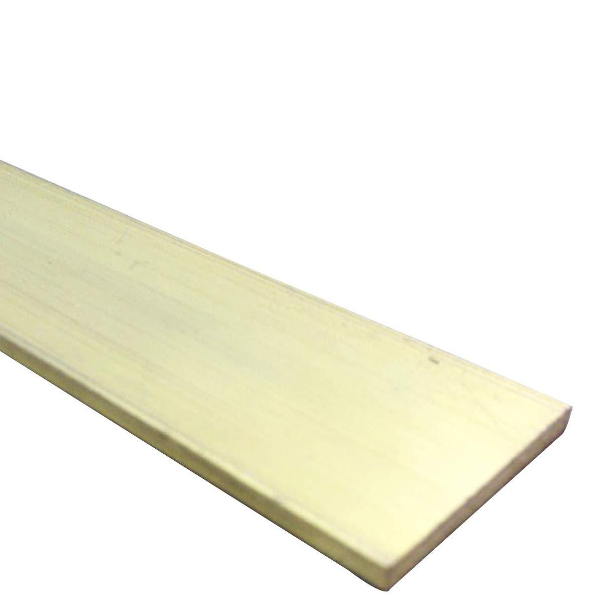 C360 Brass Flat Bar Sheet 4mm x 20mm x 250mm