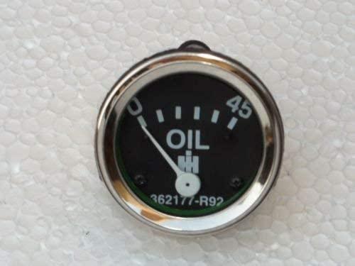 IH-FARMALL-Oil-Pressure-Gauge-0-45-PSI-fits Combine:105 453,615,715