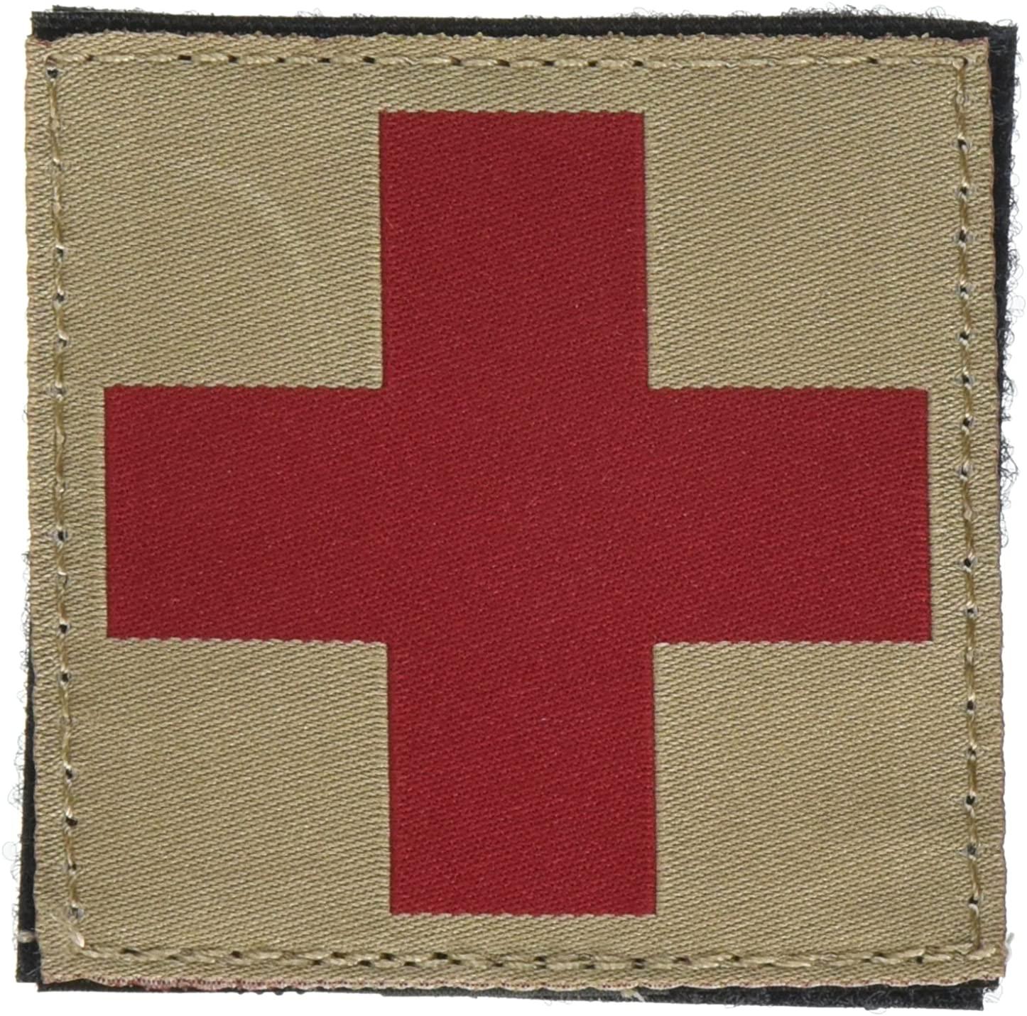 BLACKHAWK Red Cross Id Patch