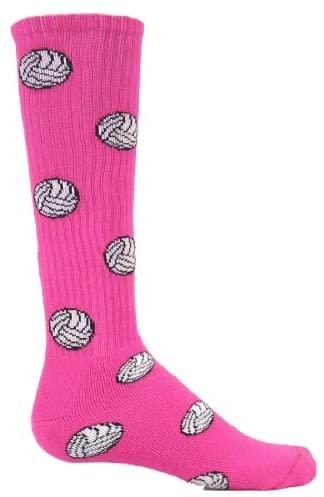 Red Lion Volleyball Socks ( Neon Pink - Medium )
