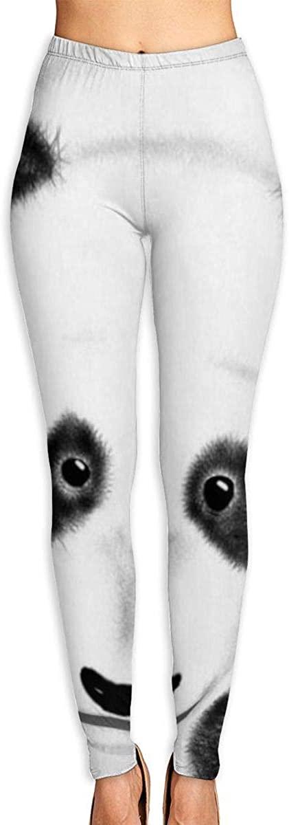 AUISS Lady Yoga Pants Leggings Pandas Bears Running Workout Capris Long Trousers Athletic Gym