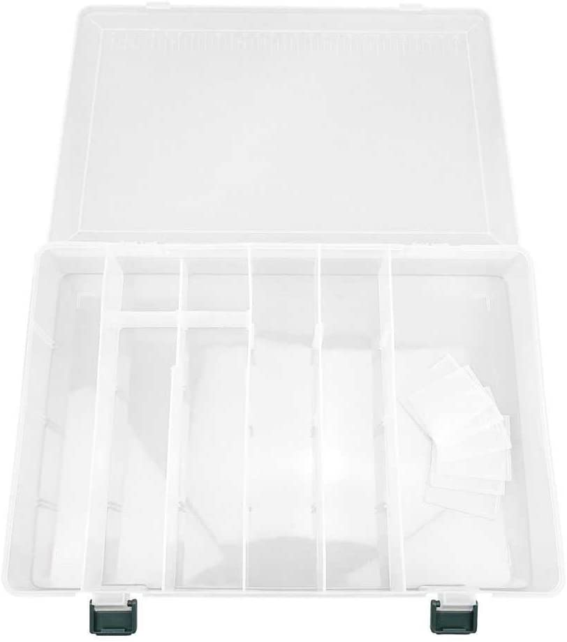 Clear Beads Tackle Box 313 Fishing Lure Nail Art Small Parts Plastic transparent Case Storage Organizer Containers kisten boxen boite