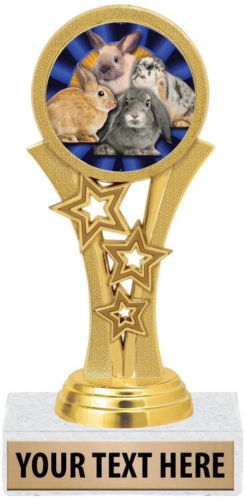Crown Awards Rabbit Trophies, 5 1/2
