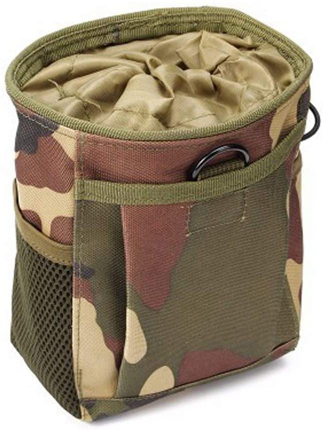 MUSEC Tactical Pouches Multi-Purpose Oxford Molle Waist Packs with Phone Holster