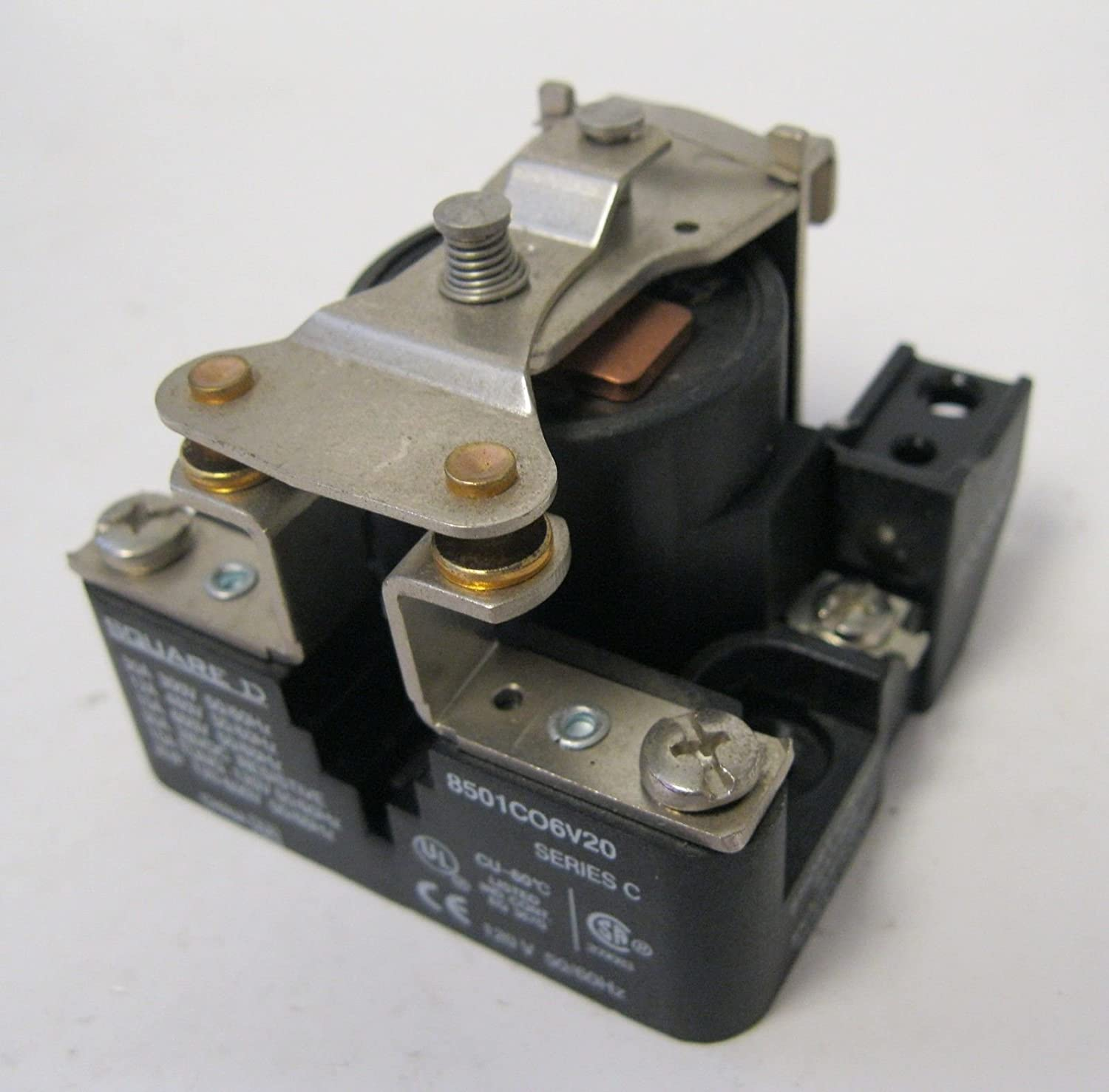 Square D Industrial SPST Power Control Relay 8501-CO6V20 2HP 120VAC Coil