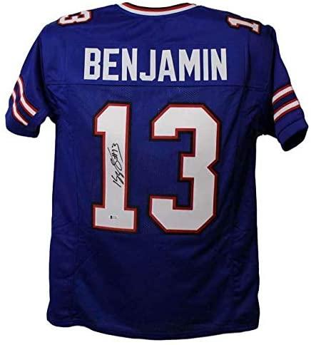 Kelvin Benjamin Autographed Buffalo Bills XL Blue Jersey BAS