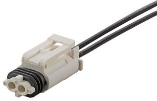 Connector Housing, ValuSeal 172878 Series, Receptacle, 2 Positions, 4 mm