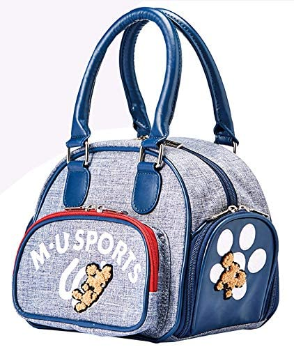 MU Sports 703P2005 Womens Pouch Bag Color Blue
