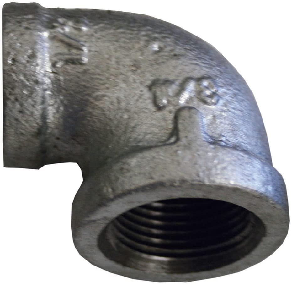 Jones Stephens Corp - 2 1/2 X 1 1/2 Reducing 90 Deg Elbow Galv