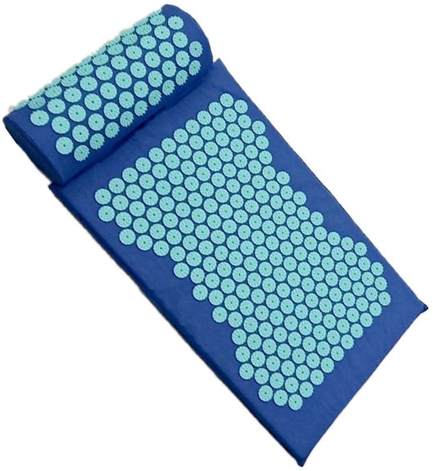 Acupressure Mat and Pillow Set, Chronic Back Pain Treatment - Relieves Your Stress of Lower Upper Back and Sciatic Pain