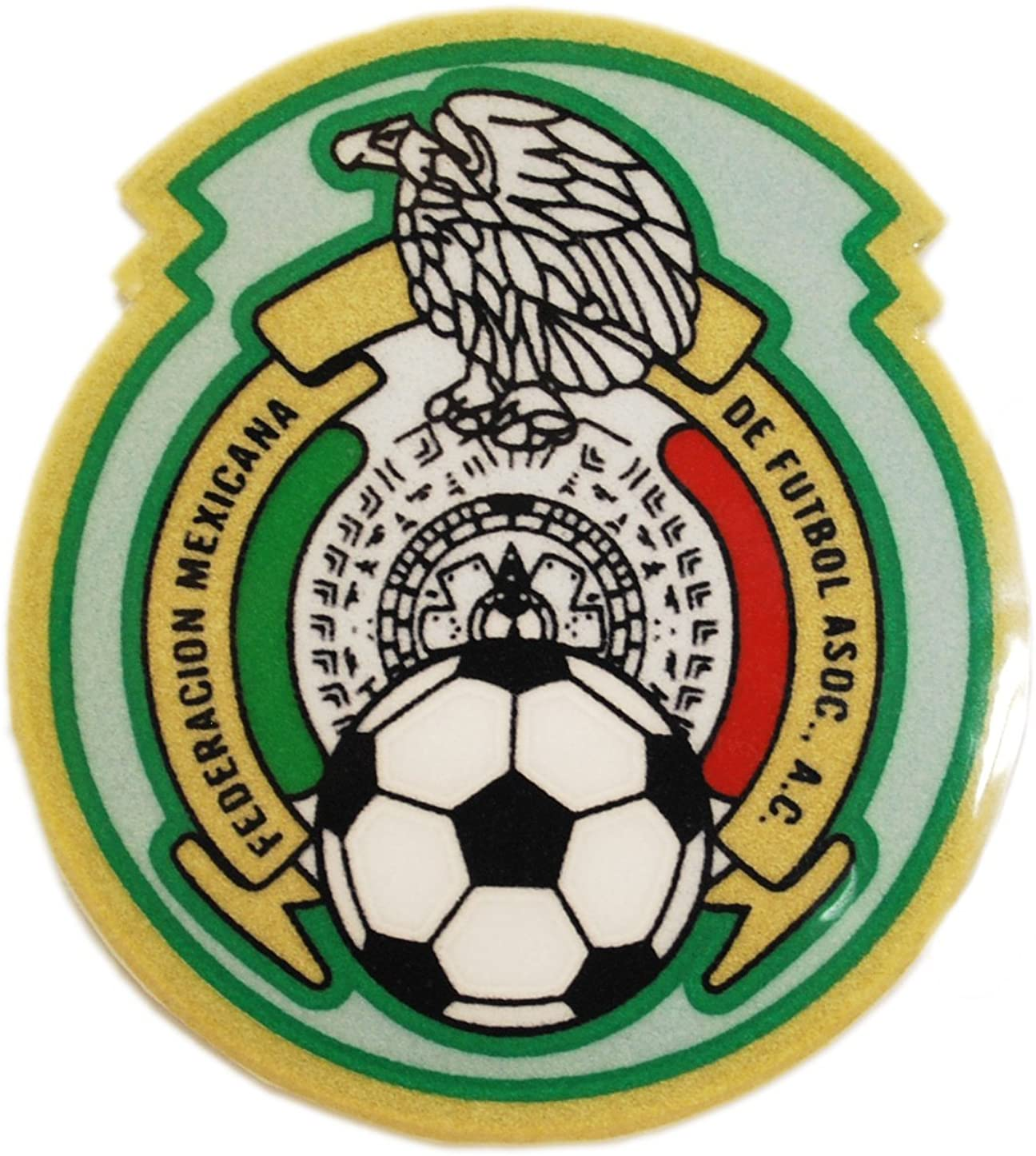 Mexico Soccer Shield Patch Green
