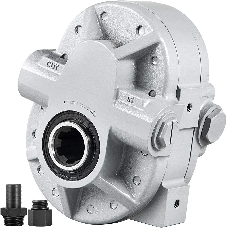 Bestauto Hydraulic Pump 16.6GPM Hydraulic Motor 540RPM Log Splitter 2500PSI Hydraulic Splitter SAE 12 Outlet Port Hydraulic Pump for Log Splitter for Truck Tailgate Lift,Scissor Lift, Dump Trailer