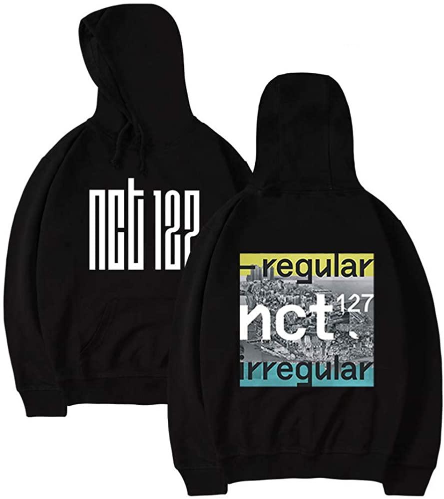 Himart NCT 127 Print Casual Sweatshirt New Album Kpop Hoodie