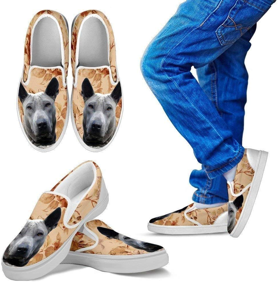 Paws With Attitude Thai Ridgeback Dog Print Slip Ons for Kids-Express Shipping