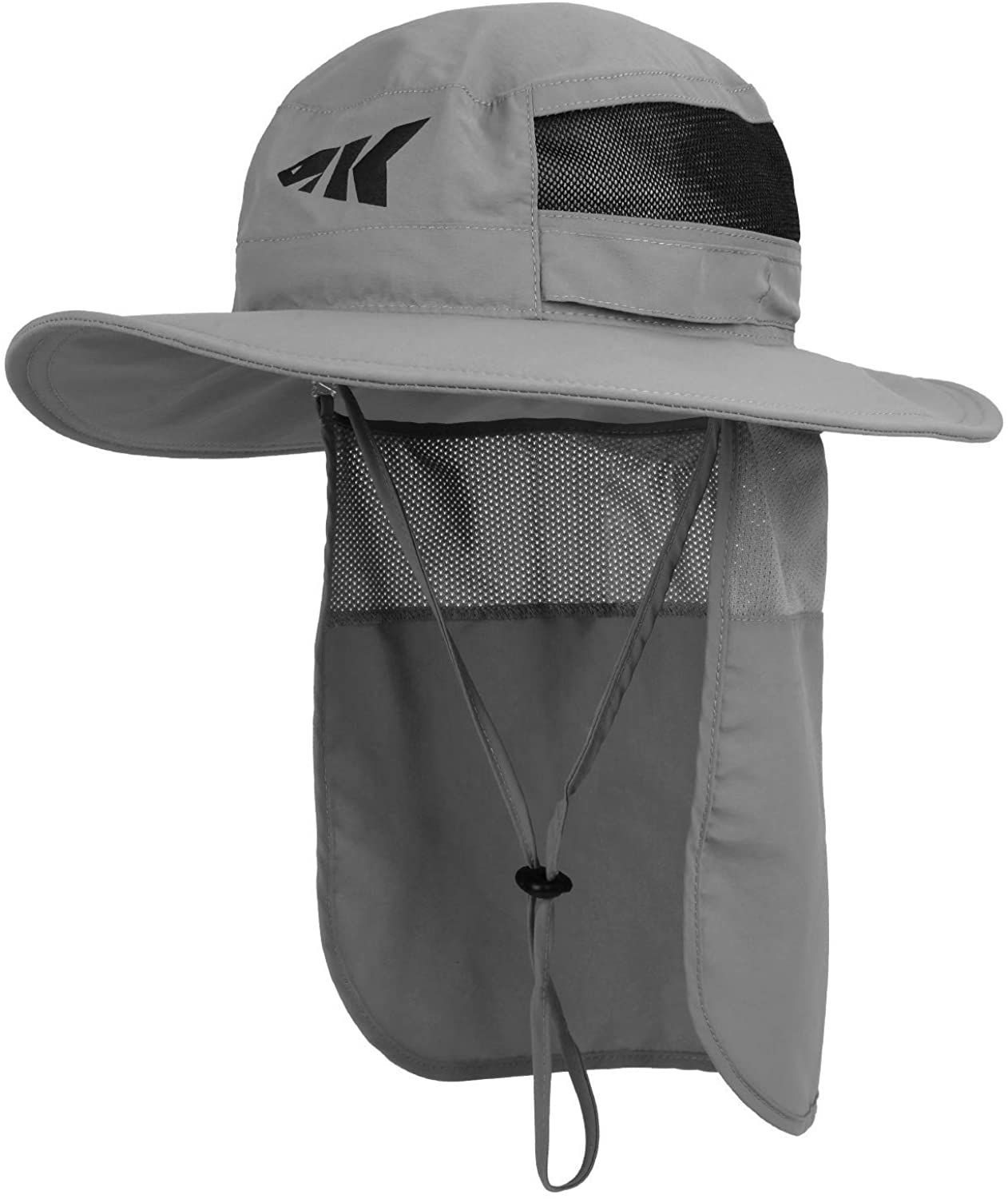KastKing Sol Armis UPF 50 Boonie Sun Hat with Removable Neck Shield– Sun Protection Hat, Fishing Hat