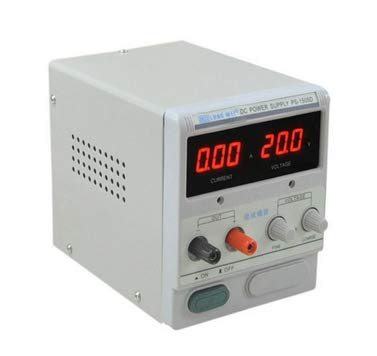 MeterTo Digital Adjustable Linear Power Supply PS-1502D DC Power Supply 15V 2A Voltage and Current