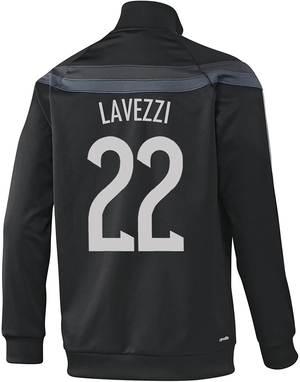 Lavezzi #22 Argentina Anthem Track Top (black)