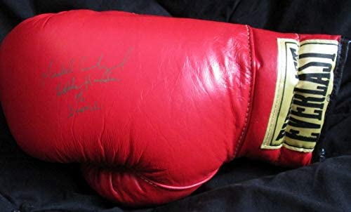 Michael Carbajal Signed Autographed Little Hands of Stone Everlast Boxing Glove - COA Matching Holograms