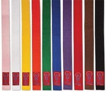 Proforce Gladiator Double Wrap Karate Belts-ORANGE #5