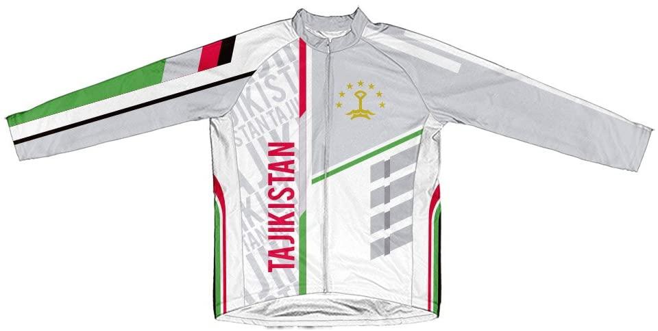 ScudoPro Tajikistan Winter Thermal Cycling Jersey for Men