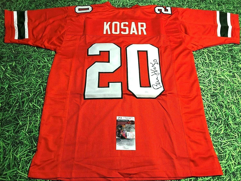Bernie Kosar Signed Jersey - The U - JSA Certified - Autographed College Jerseys