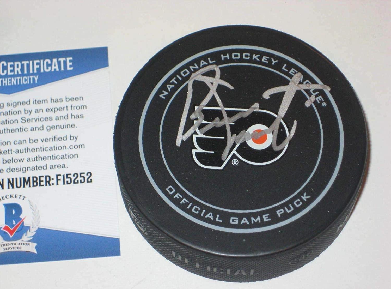 Autographed Bernie Parent Hockey Puck - Official w Beckett COA - Beckett Authentication - Autographed NHL Pucks