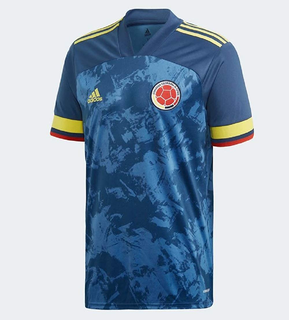 adidas 2020-2021 Colombia Away Football Soccer T-Shirt Jersey