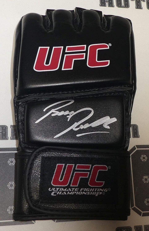 Bas Rutten Signed Official UFC Glove BAS Beckett COA 20 Hall of Fame Autograph - Beckett Authentication