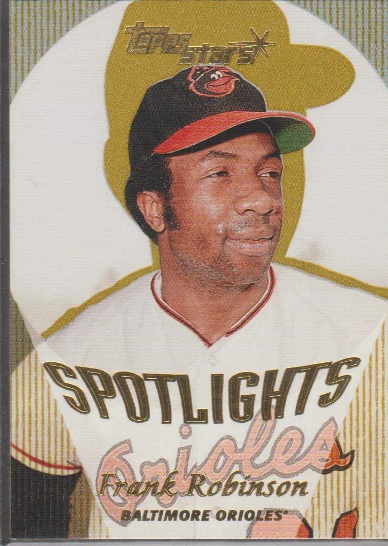 2000 Topps Stars Frank Robinson Orioles Spotlights Reprint Baseball Card #180