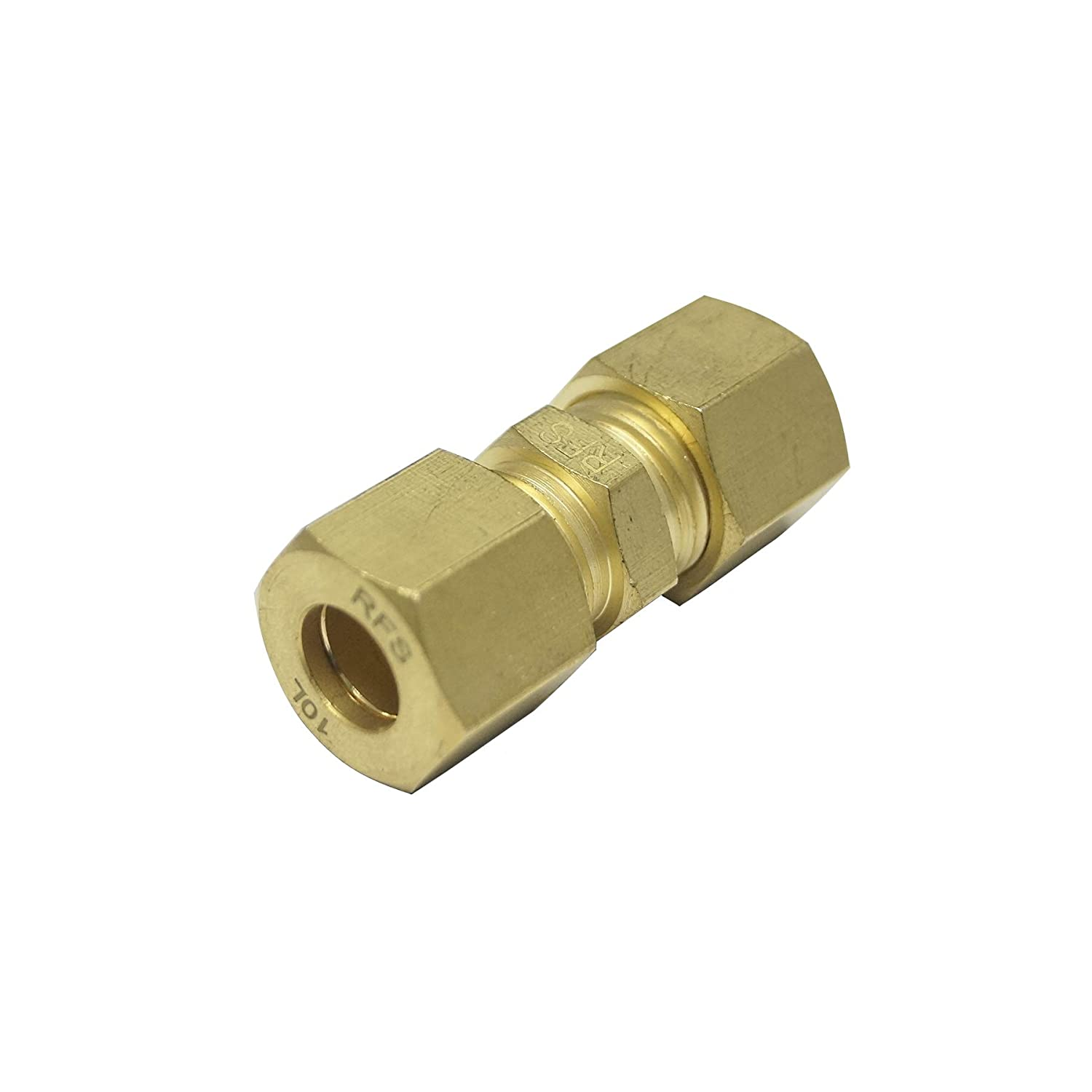 Union Coupling, Brass Material, 15L for 15MM OD Tube, Light Series