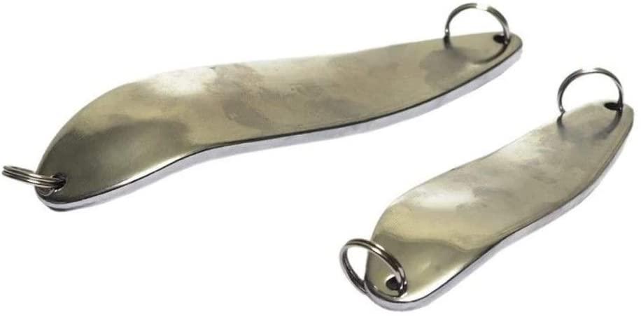 Reel Power Handles Two (2) Chrome Alligator Crocodile Type Spoons - 7oz.