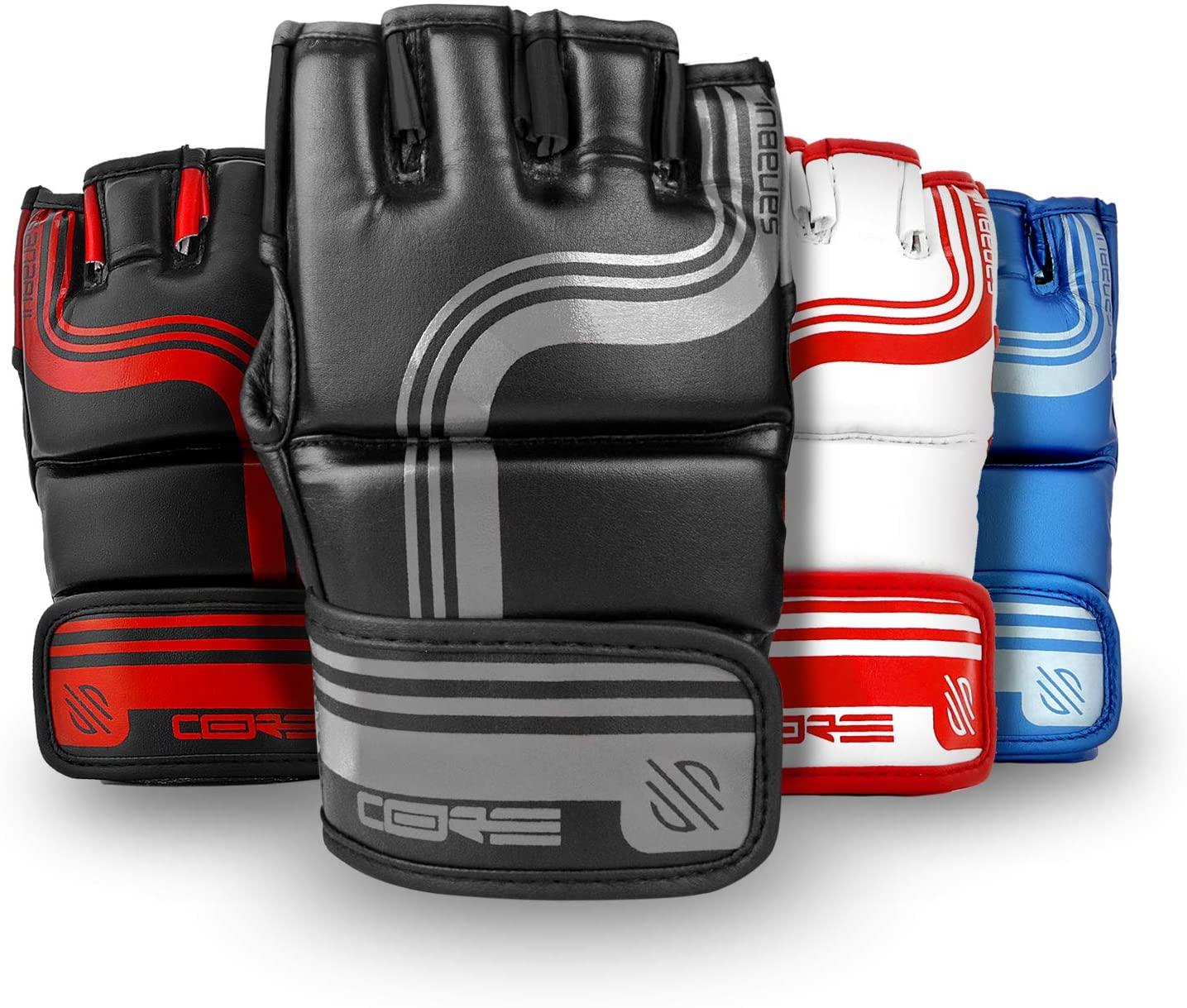 Sanabul Core Series 4 oz MMA Grappling Gloves