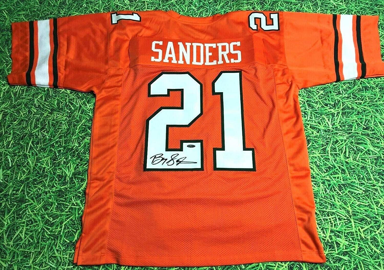 Barry Sanders Autographed Jersey - Osu Heisman Read - Tristar Productions Certified - Autographed College Jerseys