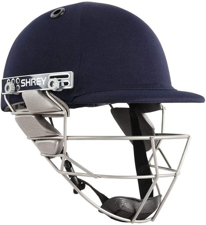 WHITEDOT SPORTS Shrey Pro Guard Stainless Steel Visor Cricket Helmet Size Medium